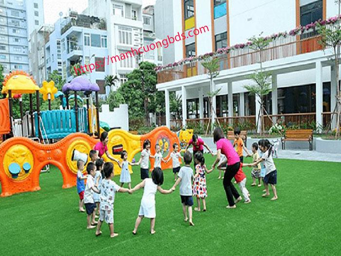 trường học tại khu đô thị thái hà