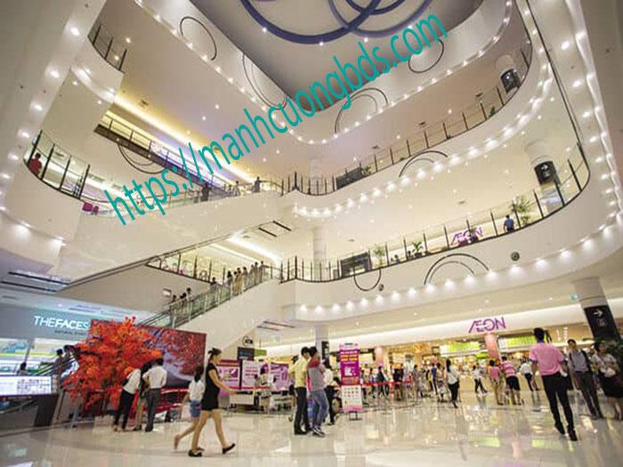 trung tâm thương mại tại dự án đô thị thái hà