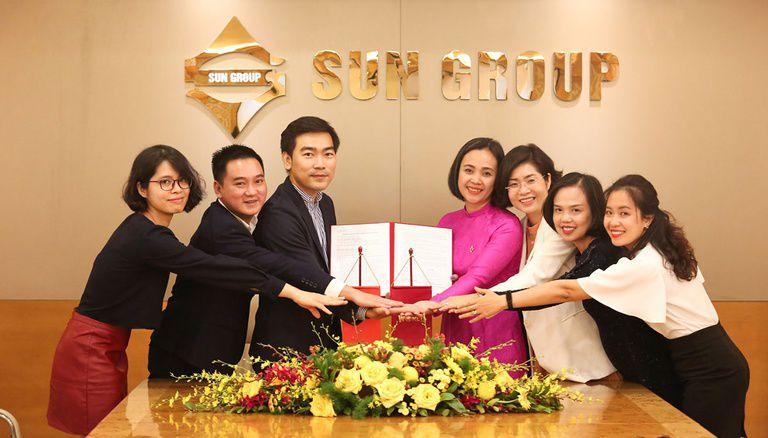 liên hệ nhận bảng giá của tập đoàn sun group