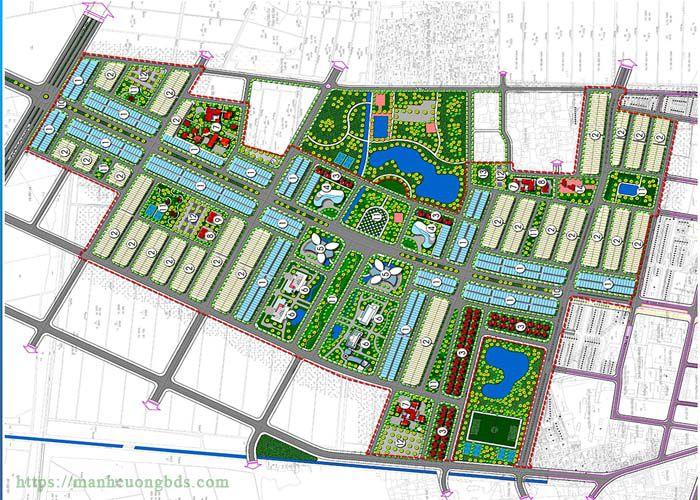 Mặt bằng dự án an bình green city